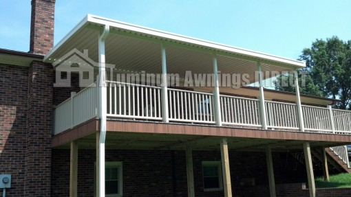 Elevated Deck Awning