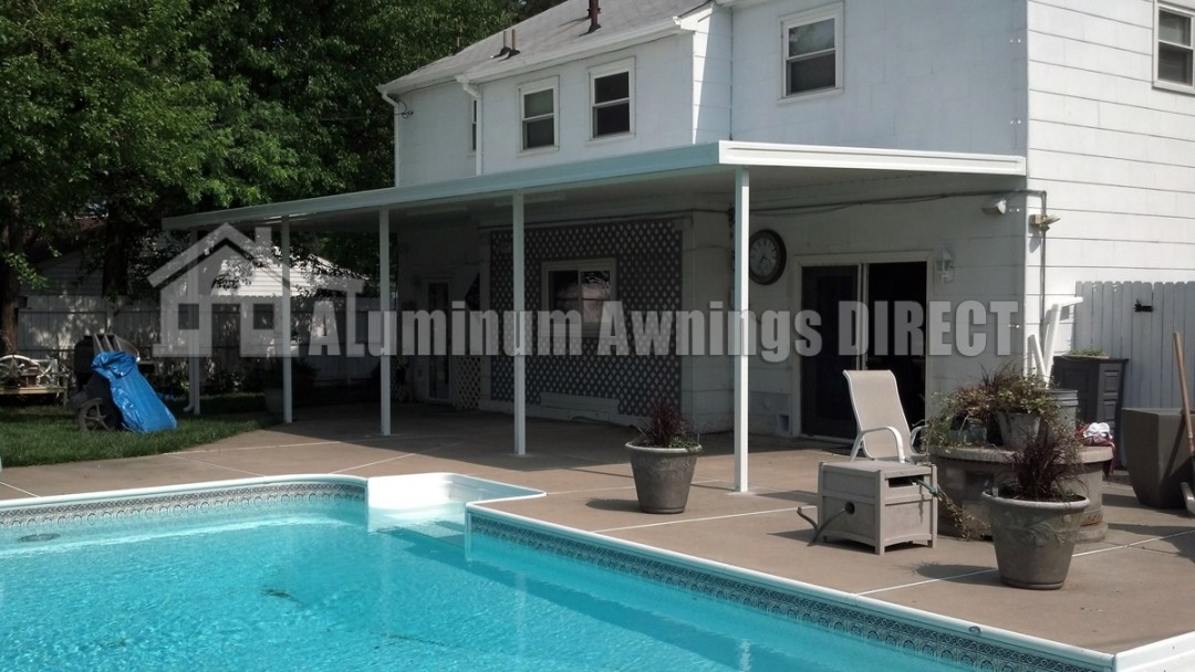 Pool Area Patio Awning