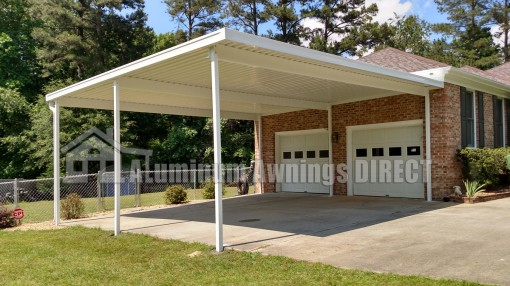 Aluminum Awnings Direct Custom Patio Deck Cover Kits Shipped